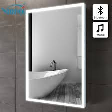 bath mirror in bathroom Bluetooth ILLUMINATED LED GLASS MIRROR