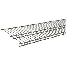 d nickel ventilated wire shelf