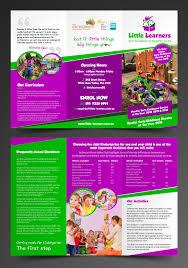 Child Care Brochure Design Elegant Playful Childcare Flyer Design For Maximal