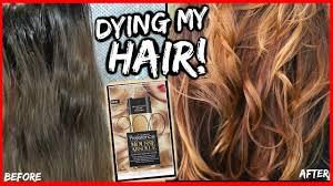 How I Lighten My Dark Hair Without Bleach To Light Brown Golden Blonde How To Color Dark Hair Diy