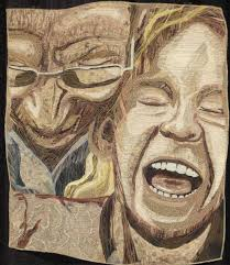 1067 best art: portrait quilts images on Pinterest | Art quilting ... & portrait quilts | IQF portrait quilts, part 4 » Maria Elkins Adamdwight.com