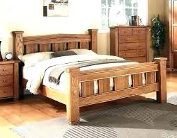 king bed frame wood. Natural Wood Bed Frame Solid King Size Wooden