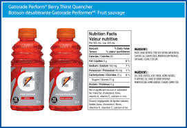 Product Gatorade Perform Berry Thirst Quencher Store