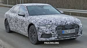spyshots 2018 audi a6 shows off its new curves