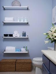 Diy Bathroom Storage Ideas Glass Bowl Sink Model Mirror Decorated - Modern bathroom shelving