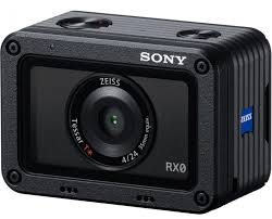 sony 4k camera. sony rx0 front action camera 4k zeiss lens