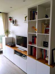 Besta Wall Unit Hack Ikea Hackers Pictures Living Room Cabinets