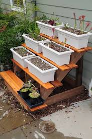 outdoor plant stand ideas 2 17 best about outdoor plant stands on