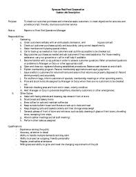 How To Write Duties And Responsibilities In Resume Example Of