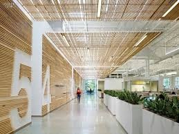 Image Space Bright Eco Office Eco Green Office Design Office Interiors Office Interior Design Ecodesign All In One Diacrete Wood Wool Cement Board Bright Eco Office Eco Green Office Design Office Interiors