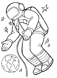 Small Picture Astronaut coloring pages in space ColoringStar