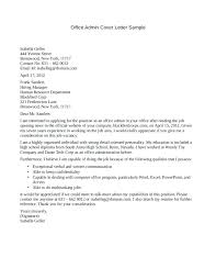 9 10 Administrative Assistant Cover Letter Samples Free
