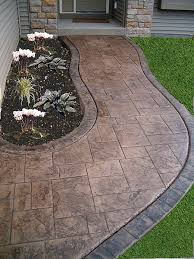 Backyard Concrete Designs Extraordinary Concrete Patios Stamp Concrete Concrete Floors Zion Illinois IL