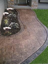 Backyard Concrete Designs Extraordinary Concrete Patios Stamp Concrete Concrete Floors Zion Illinois IL