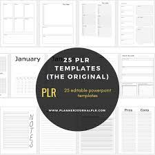 Journal Templates 25 Planner Journal Templates