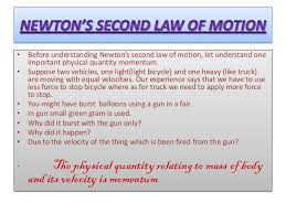 newton 39 s first law definition. before understanding newton\u0027s second law of motion, let understand one important physical quantity momentum newton 39 s first definition