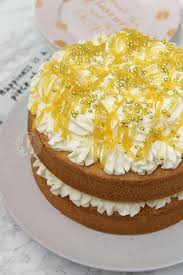 Lemon Celebration Cake Janes Patisserie
