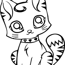 Cat Coloring Pages Cats Free Fearsome Helloy Halloween To Print Pdf