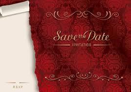 40 Plantillas Vectorizadas Para Invitaciones De Boda Paperblog