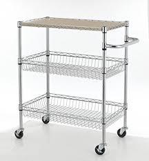 rolling kitchen cart amazon