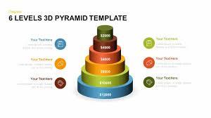 Pyramid Powerpoint 6 Levels 3d Pyramid Powerpoint Template And Keynote Slide Slidebazaar