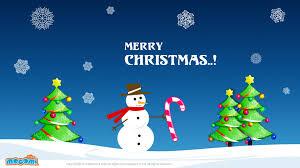 Christmas For Kids Merry Christmas Snowman Desktop Wallpapers For Kids Mocomi