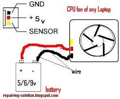 all laptop repairing solution laptop cpu cooling fan not working checking laptop cpu cooling fan using a external battery