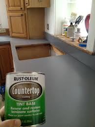 rustoleum countertop paint pewter free we painted our counter tops with counter top coating and what