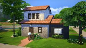Small Picture Starter Brick Home Sims 4 Houses