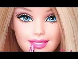 barbie doll makeup tutorial