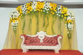 Flower Decoration Design Bangalore Stage Decoration Design 100 Stage Flower Decoration 7