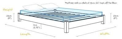 wood king bed frame plans wooden bed frame plan solid wood platform bed frame king diy