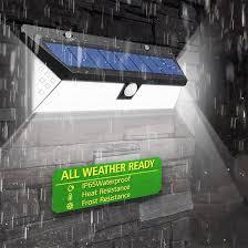 118LED/45 <b>LED Solar</b> Lamp <b>Outdoor</b> Garden Yard Waterproof <b>PIR</b> ...