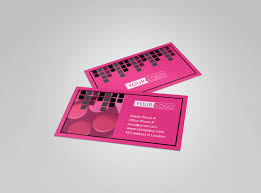studio makeup artist business card template