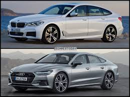 2018 audi vs bmw.  2018 itu0027s clear that the new audi a7 is far sleeker than 6 series gt  lower leaner and sportier looking though dimensionally they arenu0027t  inside 2018 audi vs bmw
