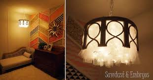cool ways to use lights diy chandelier best easy diy ideas for string