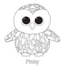 Beanie Boo Coloring Pages Owl
