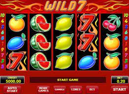 Machine à sous Wild 7 de Amatic - Jeux Gratuits de Casino