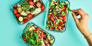 healthy yummy lunch ideas. three healthy meal prep pasta dishes in tupperware containers yummy lunch ideas