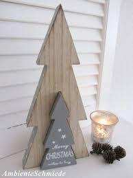 Holz Tanne In Tanne Merry Christmas Schriftzug Deko
