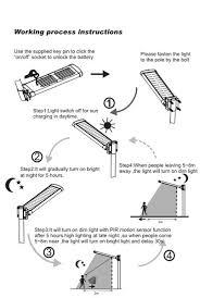 12 Watt High Power Motion Sensor Solar Led Street Light Price List Solar Street Lights Price List