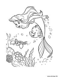 Coloriage En Ligne Gratuit La Petite Sirene