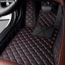 ZHAOYANHUA Car floor mats for Toyota Camry RAV4 Mark X Crown Verso ...