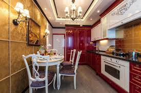 Red And Gold Kitchen Red Kitchen Cabinet Red And Black Kitchen Designs Of Nifty Red