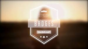 Motion Template 10 Animated Vintage Badges Apple Motion Template Royalty Free