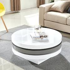 rotating coffee table rotating coffee table white n93895 rotating coffee table round swivel coffee