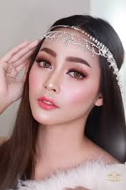 add to board thailand bridal look by natcha makeup studio 001