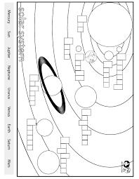 Worksheets English - Solar System   Teaching!!! :)   Pinterest ...