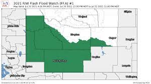 Flash Flood Watch extended until 11 pm ...