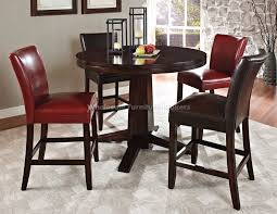 nice design counter height round dining table unusual inspiration ideas high dining table set furniture of america marcson 7 piece